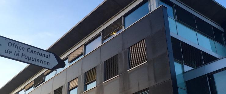 bâtiment de l'OCPM