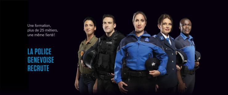 La police genevoise recrute