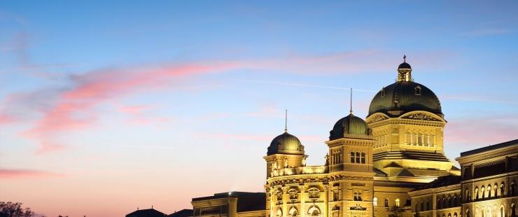 Palais fédnéral, Berne