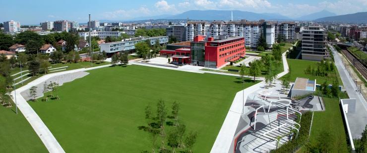 Nouveau campus de la HEAD