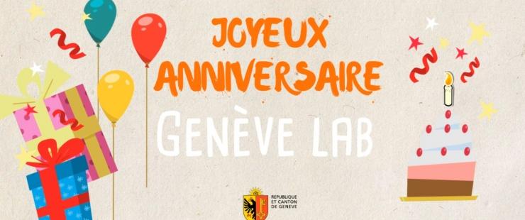 Joyeux anniversaire Genève Lab !