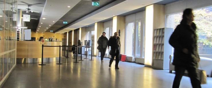L'Hotel des finances, rue du stand à Genève