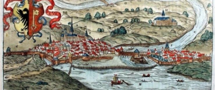 Représentation de la situation de Genève en 1575