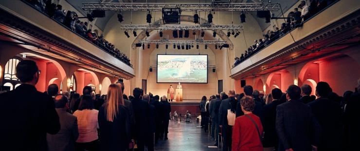 Cérémonie de prestation de serment (crédit photo: S. Puiatti)