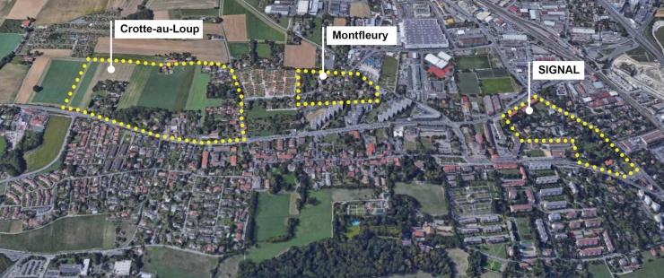 secteurs de zones 5 - Signal, Montfleury et Crotte-au-Loup