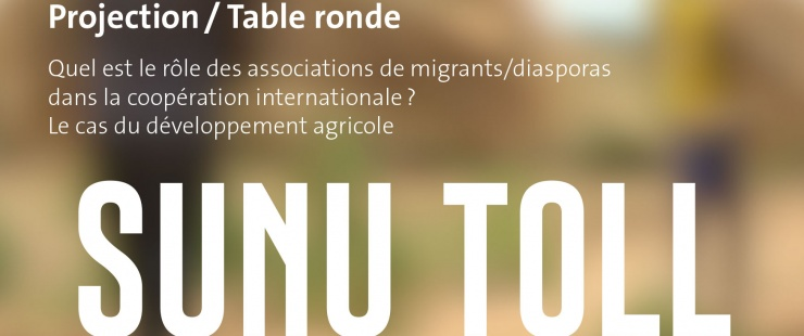 Projection - table ronde Sunu Toll