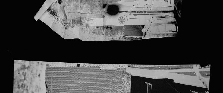 Photos noir et blanc exposition sur les violences