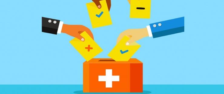 Vote dans urne