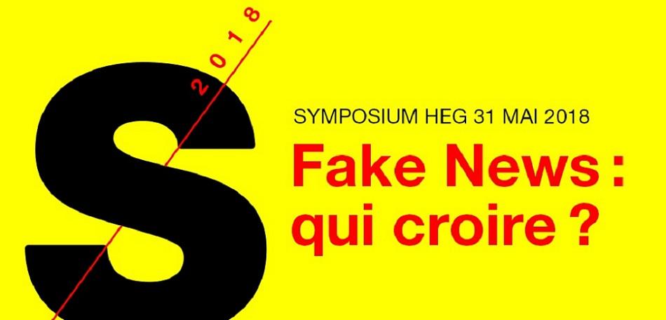 Symposium HEG - Fake News: qui croire ?