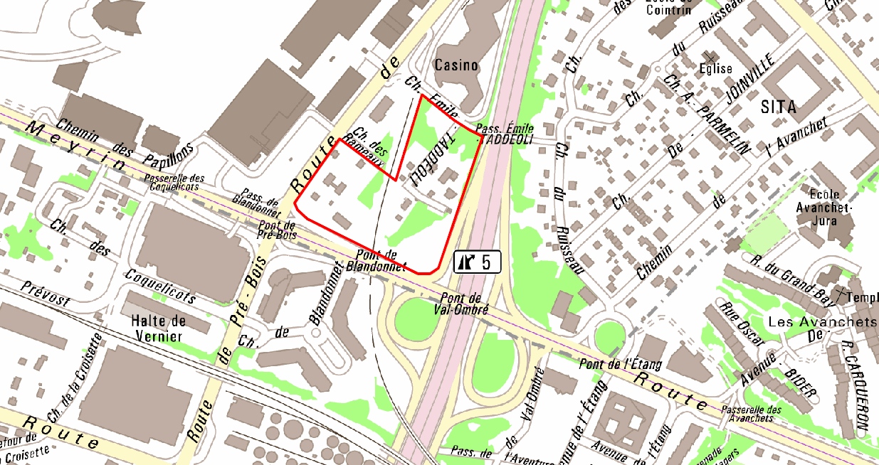 Plan localisé  de quartier Pré-Bois - concertation pour les employés travaillant à proximité