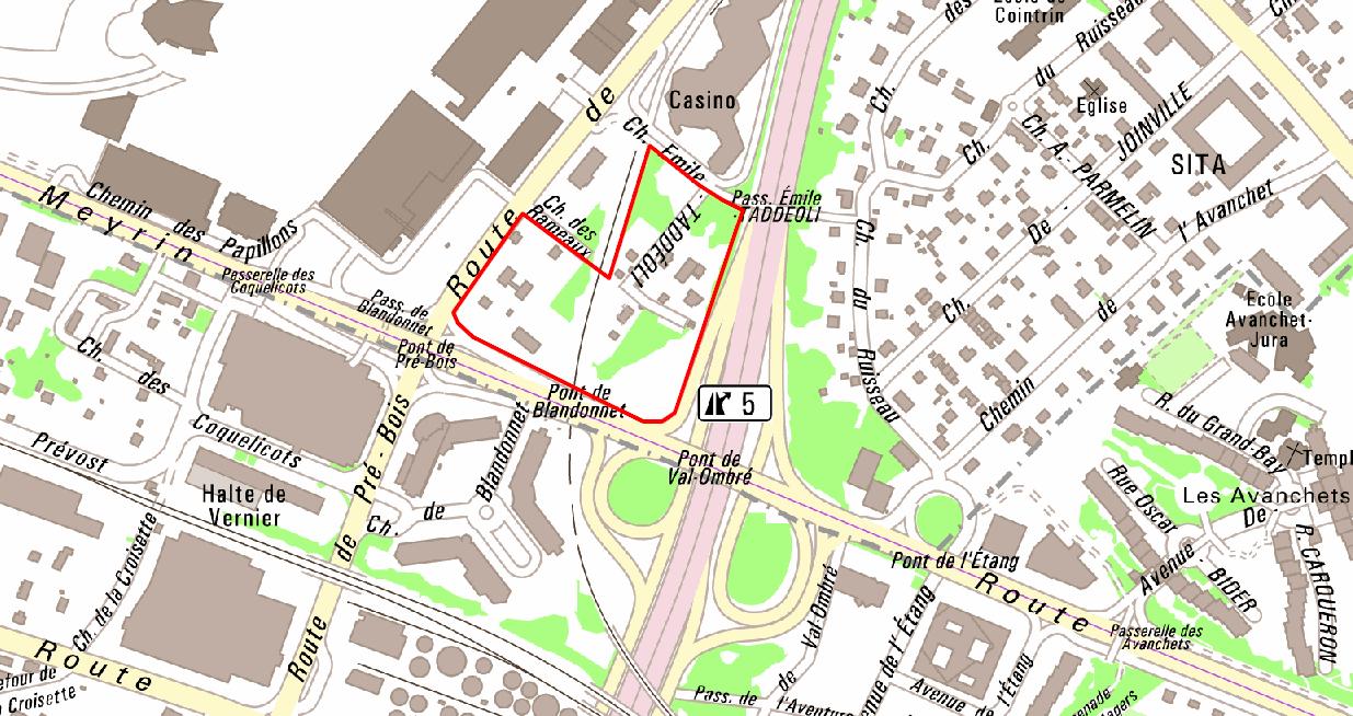 Plan localisé de quartier Pré-Bois - Concertation