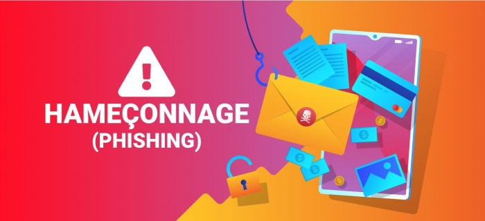 Attention Hameçonnage Phishing
