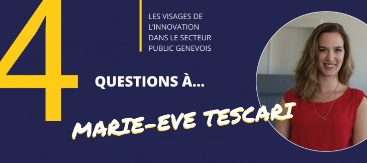 4 questions à Marie-Eve Tescari